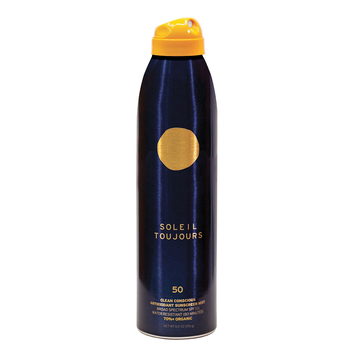 Soleil Toujours SPF 50 Clean Conscious Antioxidant Sunscreen Mist - crema solar natural
