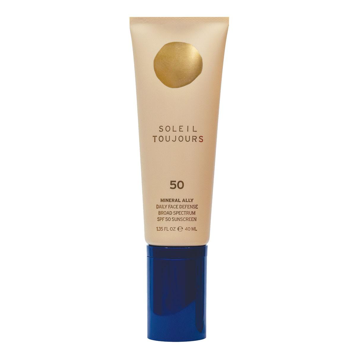 Soleil Toujours Mineral Ally Face Defense SPF 50 - Crema solar rostro mineral